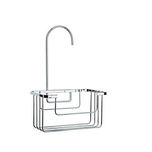 Croydex Rust Free Shower Caddy - Chrome 180mm