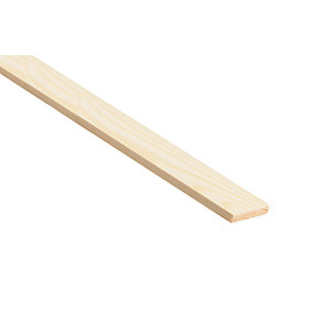Wickes Pine Stripwood Moulding (PSE) - 36mm x 4mm x 2.4m