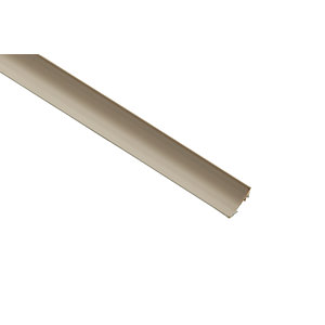 Wickes PVC Scotia Moulding - 18mm x 18mm x 2.4m