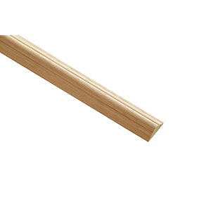 Wickes Light Hardwood Astragal Moulding - 21mm x 8mm x 2.4m