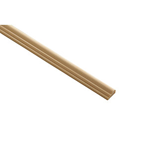 Wickes Pine Broken Ogee Moulding - 15mm x 8mm x 2.4m