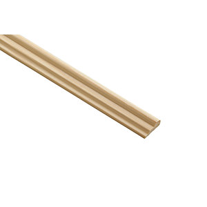 Wickes Pine Broken Ogee Moulding - 21mm x 8mm x 2.4m