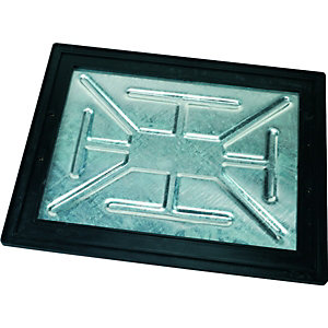 Image of Clark-Drain 5 Ton Internal Manhole Cover & Frame - 450 x 600mm
