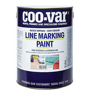 Image of Coo-Var Low Odour Line Marking Paint - Yellow 5L