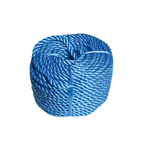 Wickes Blue 8mm Multi-fuctional Polypropylene Rope Length 30m