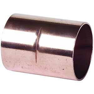 Wickes End Feed Straight Coupling - 15mm Pack of 10