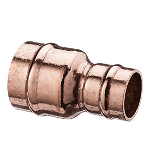 Wickes Solder Ring Reduced Coupling - 10 x 15mm