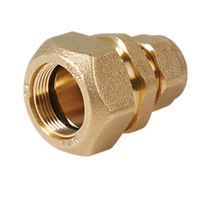 Wickes Lead to Copper Coupling - 1/2in x 15mm