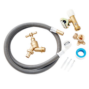 Image of Wickes Easy Fit Complete Outside Tap Kit