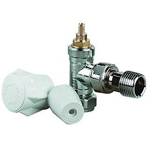 Wickes Lockshield Radiator Valve - 15mm