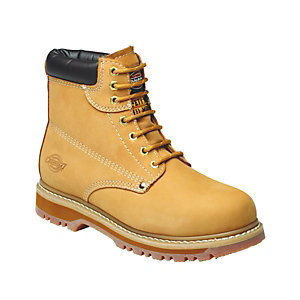 Image of Dickies Cleveland Safety Boot - Tan Size 12