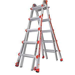 Tb Davies Little Giant 5 Tread Classic Model 22 Aluminium Stepladder