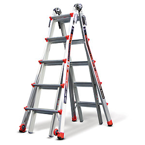 Tb Davies Little Giant 5 Tread Revolution XE Model 22 Aluminium Stepladder