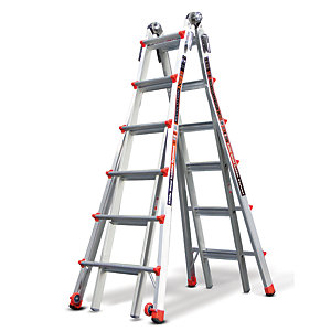 Tb Davies Little Giant 6 Tread Revolution XE Model 26 Aluminium Stepladder
