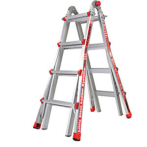 Tb Davies Giant 4 Tread Alta-One Model 17 Aluminium Stepladder