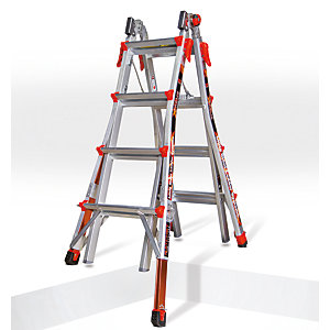 Tb Davies Little Giant 4 Tread Xtreme Model 17 Aluminium Stepladder