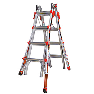 Tb Davies Little Giant 5 Tread Xtreme Model 22 Aluminium Stepladder