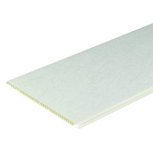 Image of Wickes PVCu Marble Effect Interior Cladding - 250mm x 2.5m Pack of 4