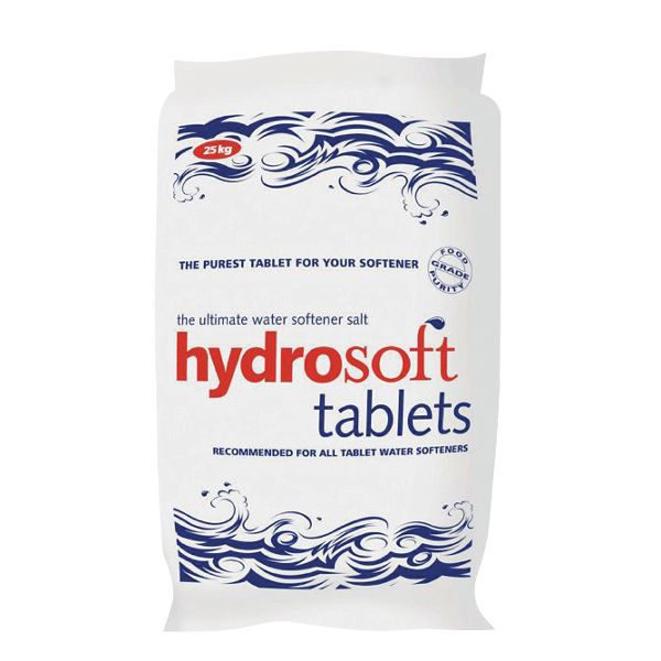 Hydrosoft Water Softener Salt Tablets - 25kg