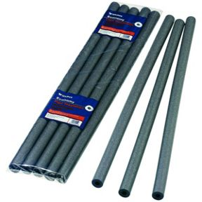 Wickes Economy Pipe Insulation 15 x 1000mm -, Pack of 5