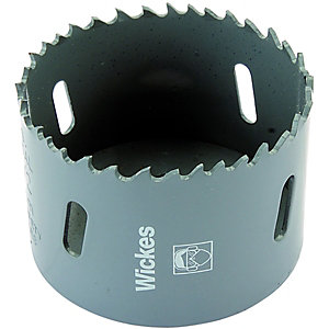 Wickes HSS Bi-metal Hole Saw - 64mm