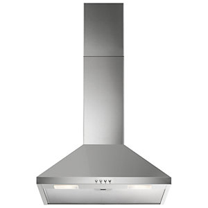 Image of Electrolux 60cm 3 Speed Chimney Stainless Steel Cooker Hood