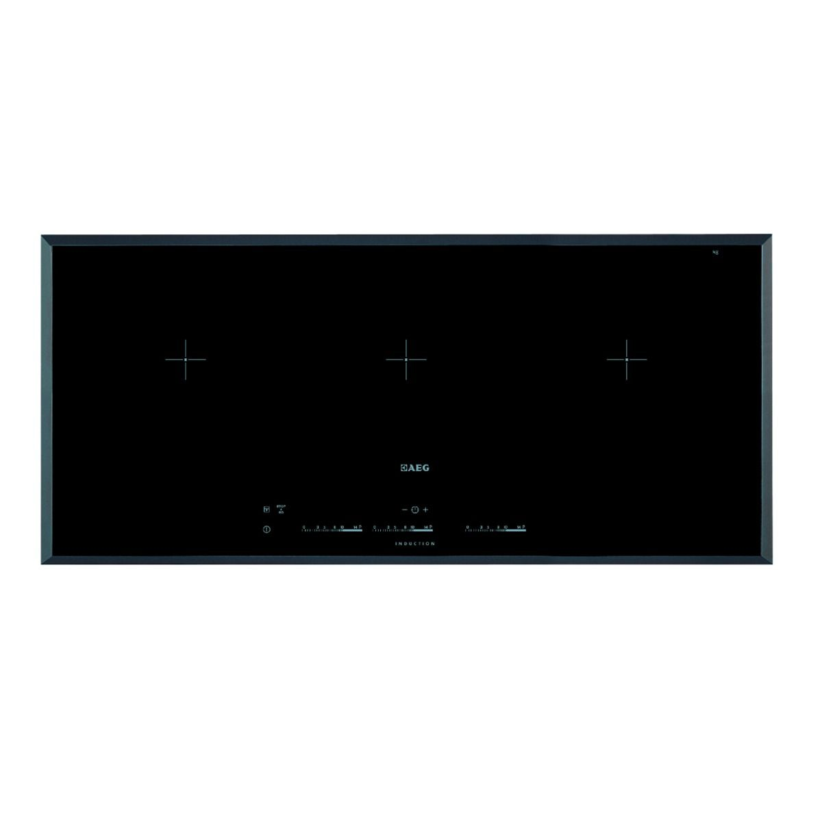 AEG 3 Zone Maxisense Flexi Induction Hob Black HK953400FB | Wickes.co.uk