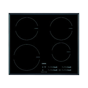 AEG 60cm 4 Zone Induction Hob Black IKB64401FB