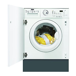 Compare retail prices of Zanussi ZWT71201WA Integrated 1200RPM Washer Dryer to get the best deal online