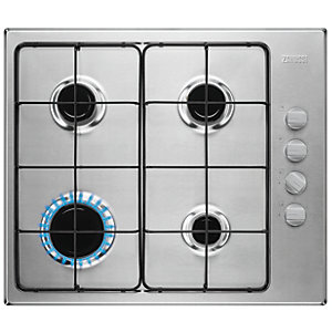 Image of Zanussi 58cm Gas Hob Stainless Steel ZGG67412XA