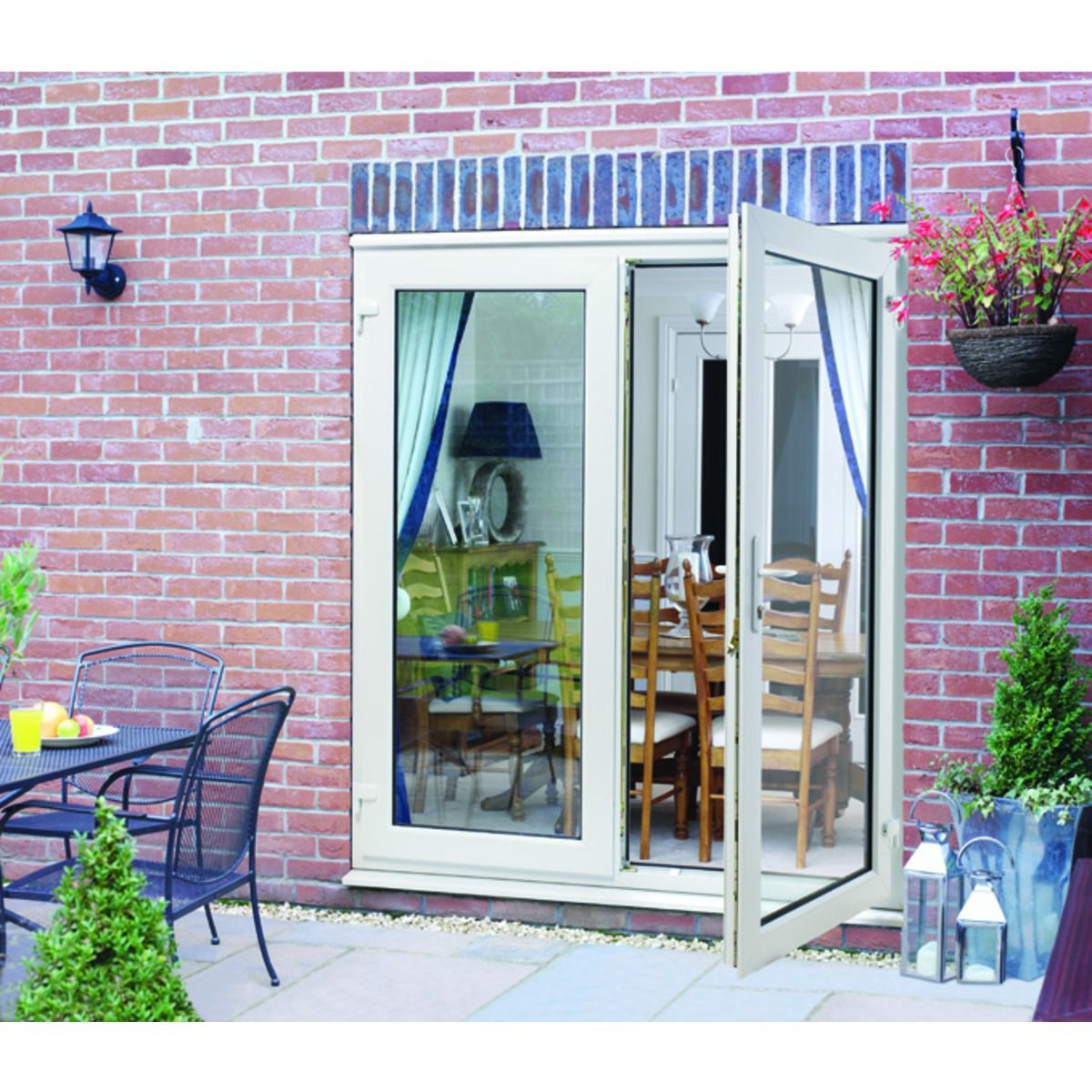 Great UPVC French Doors Outwards Opening | Wickes.co.uk