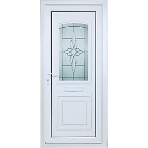 Wickes Medway Pre-hung Upvc Door 2085 x 920mm Left Hand Hung