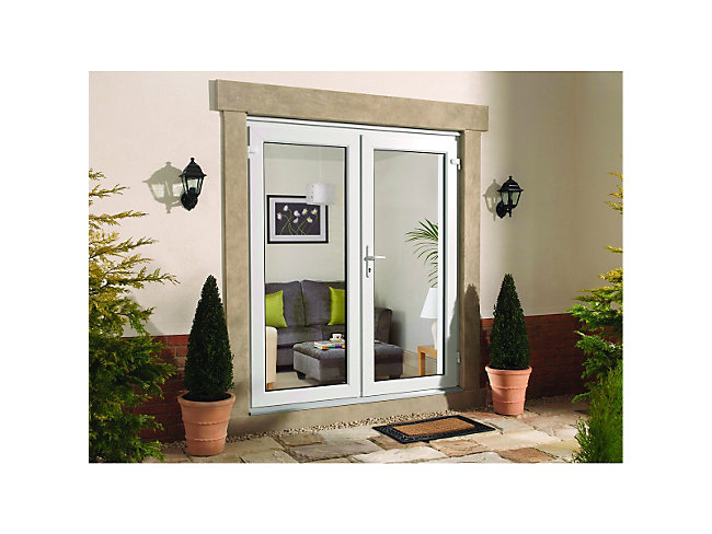 Upvc French Doors - 1190 X 2090 Mm
