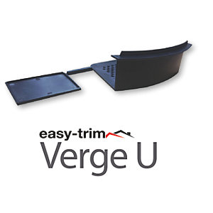 Easy-Trim Verge U Starter/End Cap Packs Grey