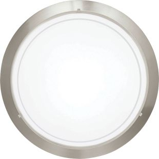 Eglo planet 1 brushed chrome satinated glass small wall ceiling eglo planet 1 brushed chrome satinated glass small wall ceiling light 60w e27 wickes aloadofball Gallery