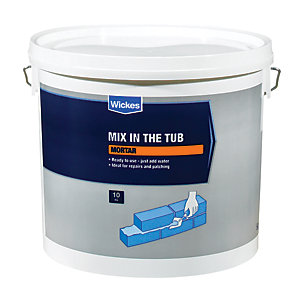 Image of Wickes Mix in the Tub Mortar - 10kg