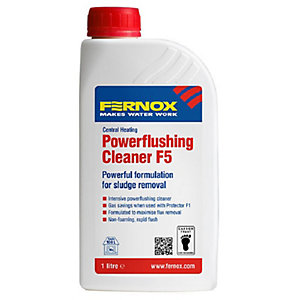 Image of Fernox F5 Central Heating Powerflushing Cleaner - 1L