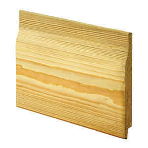 Wickes Rebated Shiplap Cladding - 14.5mm x 119mm x 2.4m