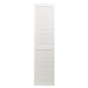 Wickes White Closed Internal Louvre Door - 1829mm x 457mm
