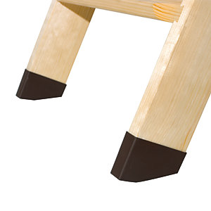 Image of Fakro LXS Loft Ladder Plastic Style Ends (Feet) Pair