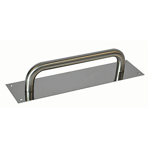Image of 4FireDoors Pull Handle - Satin Stainless Steel 19mm