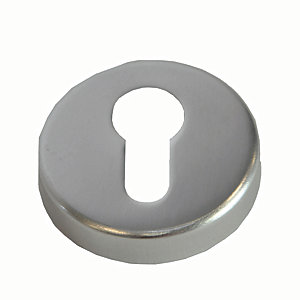 Image of 4FireDoors Euro Profile Escutcheon - Satin Stainless Steel Pack of 2