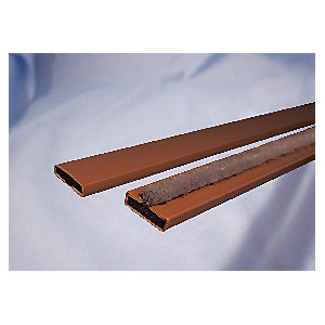 Image of 4FireDoors Intumescent Fire Seal - Brown 15 x 4mm Single Door Pack of 5