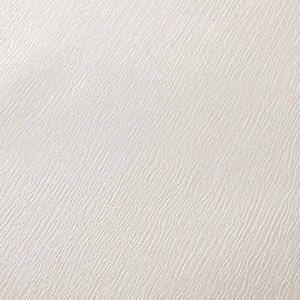 Superfresco Colour Kia Decorative Wallpaper White - 10m