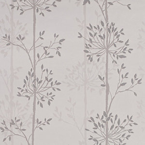 Superfresco Easy Domaniale Paillette Decorative Wallpaper Grey - 10m