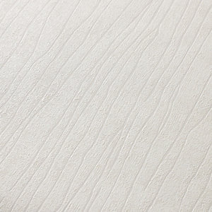 Superfresco Easy Spun Silk Decorative Wallpaper White - 10m