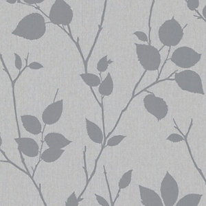 Superfresco Easy Virtue Decorative Wallpaper Grey - 10m