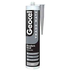 Image of Geocel Trade Mate Roofers Seal - Grey 310ml