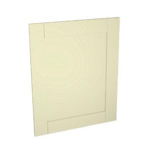 Wickes Ohio Cream Shaker Appliance Door (B) - 600 x 731mm