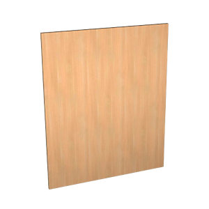 Wickes Oakmont Slab Appliance Door (B) - 600 x 731mm